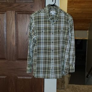 Men's L/S Relaxed Fit CARHARTT Plaid Shirt Large